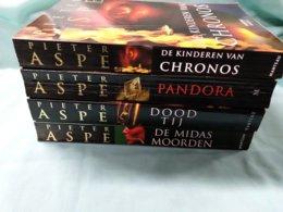 Pieter Aspe, 4 Boeken. - Detectives En Spionage