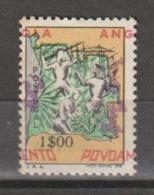 ANGOLA CE AFINSA IMPOSTO POSTAL 19 - LEGENDAS DESLOCADAS - Angola