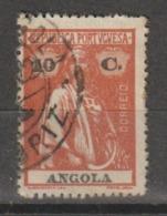 ANGOLA CE AFINSA 151b - POSTMARKS OF ANGOLA - Angola