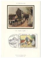 Carte Maximum 1983 - Utrillo Le Lapin Agile - YT 2297 - Paris - 1980-89