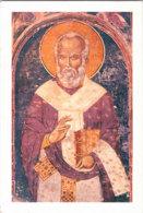 Pl 004 / Fresco Of Our Holy Father Nicholas From The Banja Monastery, Priboj - Serbie