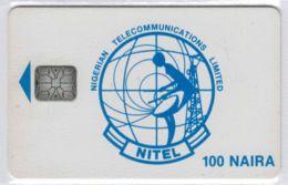 100 NAIRA Bleue - RARE - Sans N° De Série Mais Fonctionnelle - Voir Scans - Nigeria