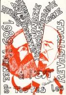 1989 L'ANNÉE De TOUTES Les REVOLUTIONS    Illustration De Gaston TOURAINE Caricature Politique - Evènements