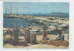 Saint-Cyr-sur-Mer (83) :  La Réparation Des Filets Dans Port  Pêcheurs  En 1970 (animé) GF . - Saint-Cyr-sur-Mer