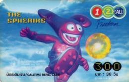 TAILANDIA. Spheriks 1/4. KAZ. 06/2004. TH-12Call-0115. (058) - Tailandia