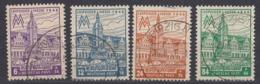 SASSONIA OCCIDENTALE -1946 - Serie Completa Usata: Yvert 37/40; 4 Valori. - Zona Sovietica