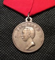 """Russia 1863, Alexander-II Medal """"For The Work On The Arrangement Of Peasants"""", Silver !! VF Condition !!! - Russia"""