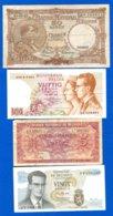 Belgique   4  Billets - [ 2] 1831-... : Koninkrijk België