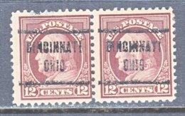 U.S. 512    Perf.  11   *    OHIO   1917-19   Issue - United States