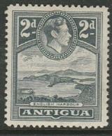 Antigua, GVIR, 1951, 2d, Slate Grey, MH * - Antigua & Barbuda (...-1981)