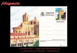 EUROPA. ESPAÑA. ENTEROS POSTALES. TARJETA ENTERO POSTAL 1988. CLAUSTRO & CATEDRAL. TARRAGONA - Enteros Postales