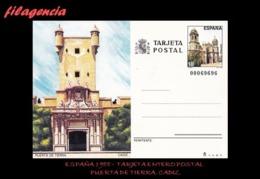 EUROPA. ESPAÑA. ENTEROS POSTALES. TARJETA ENTERO POSTAL 1988. PUERTA DE TIERRA. CADIZ - Enteros Postales