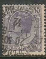 Monaco, 1926, 15c, Good Used, - Monaco