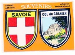 73 - Souvenirs SAVOIE / COL Du GRANIER - Adhésif (C8) - France