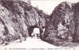 88 - Vosges - Environs De GERARDMER - Le Tunnel De La Schlucht - Ancienne Frontiere - Gerardmer