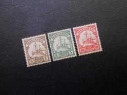 D.R.Mi 7**MNH/ 8/ 9*MLH - Deutsche Kolonien ( Marianen ) 1901 - Mi 5,10 € - Colonia:  Islas Maríanas