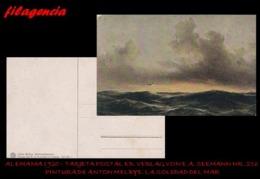 PIEZAS. ALEMANIA. TARJETAS POSTALES. TARJETA POSTAL 1920. PINTURA DE ANTON MELBYE. ED. VERLAG VON E.A. SEEMANN NO. 126 - Alemania