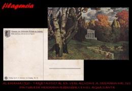 PIEZAS. ALEMANIA. TARJETAS POSTALES. TARJETA POSTAL 1920. PINTURA DE H. RÜDISÜHLI. ED. VERLAG VON E.A. SEEMANN NO. 161 - Alemania