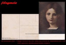 PIEZAS. ALEMANIA. TARJETAS POSTALES. TARJETA POSTAL 1920. PINTURA DE GEORG BUCHNER. ED. VERLAG VON E.A. SEEMANN NO. 125 - Alemania