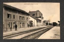 02 - SAINT-ERME - La Gare - 1928 ,#02/006 - Frankreich