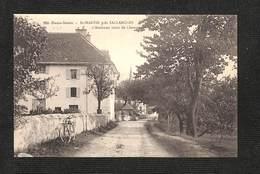74 - SAINT MARTIN Près SALLANCHES - L'Ancienne Route De Chamonix ,#74/002 - Francia