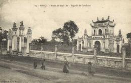 HANOI Route De SinhTu Pagode De Conficius RV - Viêt-Nam