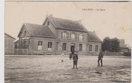 CARTE POSTALE   LILLERS 62  La Gare - Lillers