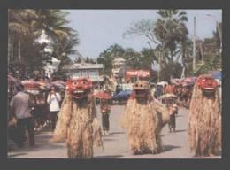 088651 SIAM THAILAND Vientiane Pougneugnagneu Dance Old PC - Asia
