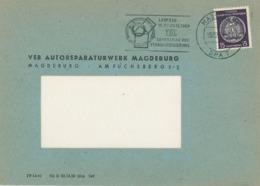 Lehrschau Der Standardisierung Leipzig TGL Zahnrad Satz Des Pythagoras - Geometrie - Briefstück - Wissenschaften