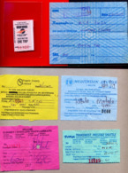 KENYA, SOUTH SUDAN, UGANDA 10x Bus Tickets 2019 Including Kampala City Bus Ticket Ouganda - Mundo