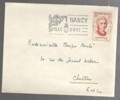 24345 - J.J ROUSSEAU - Poststempel (Briefe)