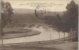 5792 CPA Chateauneuf Du Faou - Canal De Nantes à Brest à Pont Pol St Thois - Châteauneuf-du-Faou