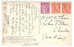 24350 - Recette Auxiliaire VAL D ISERE - Storia Postale