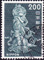 Japan - Flötenspielender Bodhisattva (MiNr: 945) 1966 - Gest Used Obl - 1926-89 Emperor Hirohito (Showa Era)