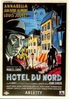 Réf. 608/ 1 CPM - Carte Postale Cinéma - Hôtel Du Nord - Arletty - Affiches Sur Carte