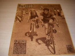 BUT Et CLUB 240 26.06.1950 CYCLISME LAZARIDES AUTO 24h MANS CADILLAC ROSIER - Sport