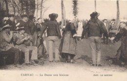 Carnac (56 - Morbihan) La Danse Aux Binious - édit Le Rouzic (carte Comme Neuve) - Carnac