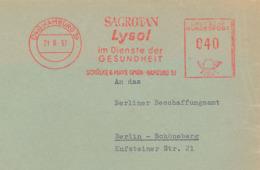 Hamburg 1957 - Sagrotan Lysol Schülke & Mayr AFS - Medizin