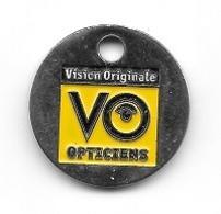 Jeton De Caddie  Médical, Vision  Original  V.O  Opticiens - Jetons De Caddies