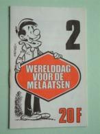 WERELDDAG Van De MELAATSEN ( Edit. 2 > HACHEL ) Hachel-Scen.: M. Gris ( Zie / See / Voir Photo ) Petit Livret / 16 Pag.! - Organizations