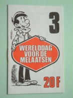 WERELDDAG Van De MELAATSEN ( Edit. 3 > HACHEL ) Hachel-Scen.: M. Gris ( Zie / See / Voir Photo ) Petit Livret / 16 Pag.! - Organisaties