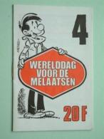 WERELDDAG Van De MELAATSEN ( Edit. 4 > HACHEL ) Hachel-Scen.: M. Gris ( Zie / See / Voir Photo ) Petit Livret / 16 Pag.! - Organizaciones