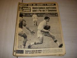 MIROIR Des SPORTS 1020 25.05.1964 RUGBY PAU CAPDOUZE MONCLA FOOTBALL COMBIN - Sport