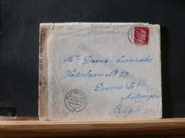 A11/488   LETTRE ALLEMAGNE  CENSURE  POUR LA BELG.1943 - Germania