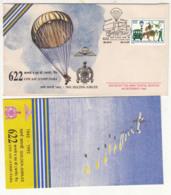 Army Cover 1992, 622 COY ADC Papa, Parachutting, Defence, Militaria, Truck, Transport, Aero Sport Cycling, Rafting, - Fallschirmspringen
