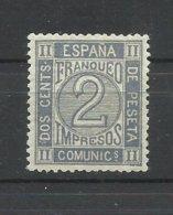 ESPAÑA  EDIFIL   116   MNH  **   (CERTIFICADO COMEX) - Neufs