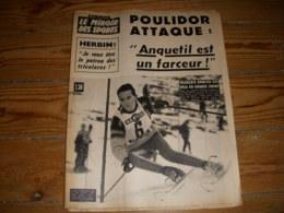 MIROIR Des SPORTS 1054 21.12.1964 SKI BONLIEU FOOT HERBIN NATATION SCHOLLANDER - Deportes