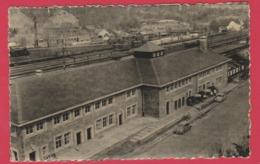 Jemelle - La Nouvelle Gare ... Qui Remplace Celle Détruite Par Les Allemands En Mai 1940  -2 - 1955 ( Voir Verso ) - Rochefort