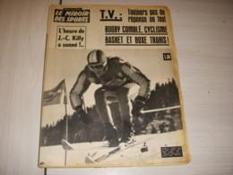 MIROIR Des SPORTS 1060 02.02.1965 SKI KILLY SPORT Et TELEVISION BASKET GILLES - Deportes