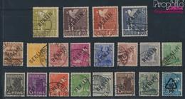 Berlin (West) 1-20 (kompl.Ausg.) Geprüft Mit Attest Gestempelt 1948 Schwarzaufdruck (9350454 - Gebraucht